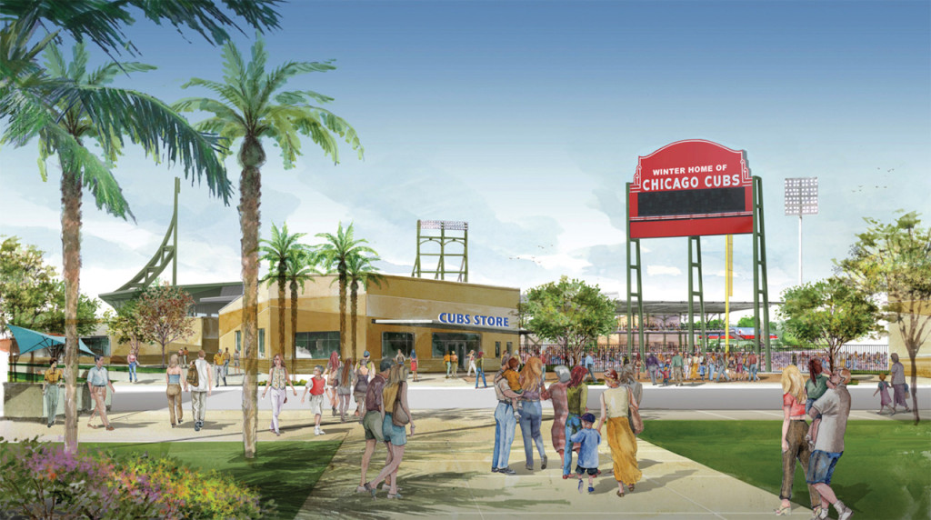 New Chicago Cubs spring training facility