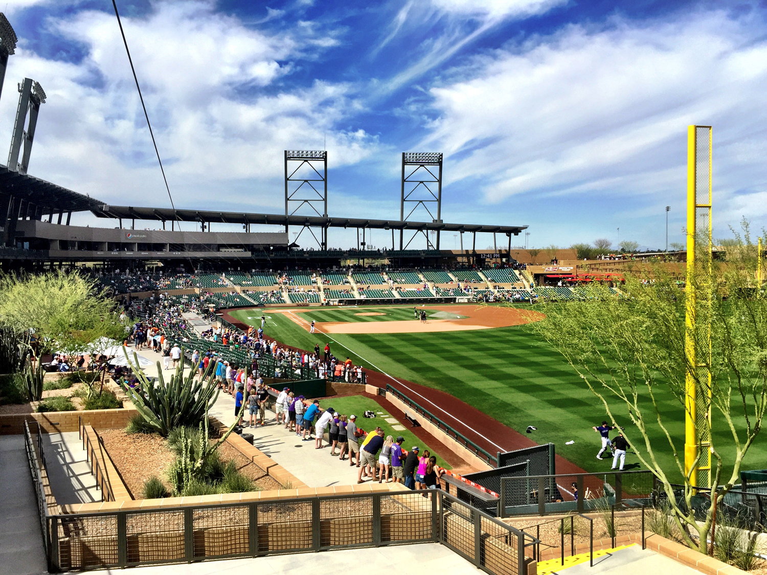 picture about Atlanta Braves Schedule Printable titled Cactus League 2020 Spring Exercising Program - Spring