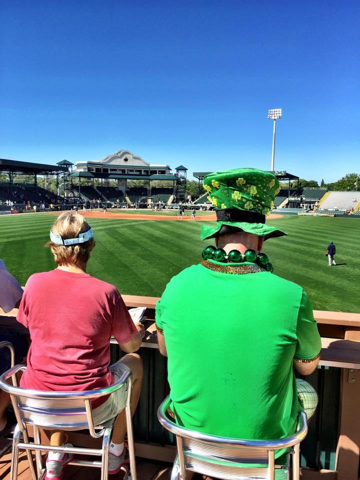 St. Patrick's Day, McKechnie Field
